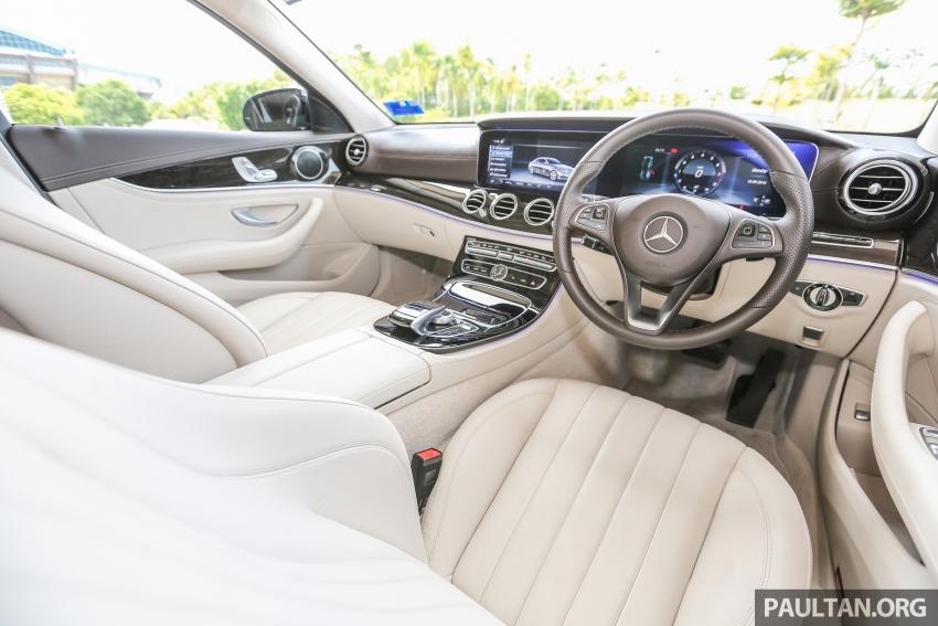 PANDU UJI: Mercedes-Benz W213 E 200 – penanda aras baharu segmen sedan mewah eksekutif Image #561471