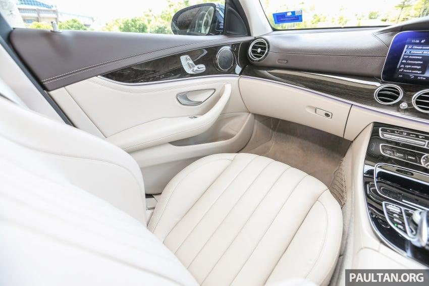 PANDU UJI: Mercedes-Benz W213 E 200 – penanda aras baharu segmen sedan mewah eksekutif Image #561499