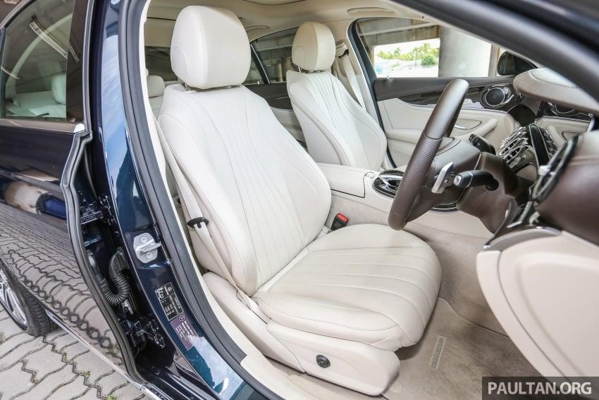 PANDU UJI: Mercedes-Benz W213 E 200 – penanda aras baharu segmen sedan mewah eksekutif Image #561473