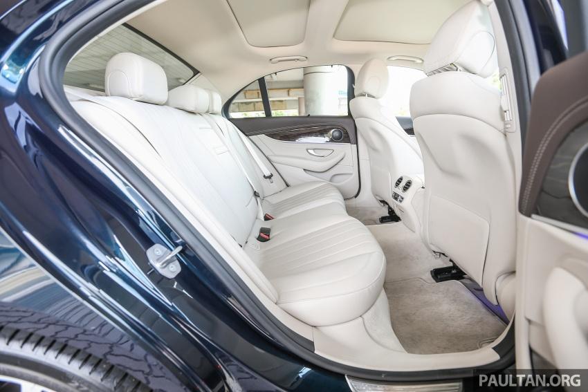 PANDU UJI: Mercedes-Benz W213 E 200 – penanda aras baharu segmen sedan mewah eksekutif Image #561497