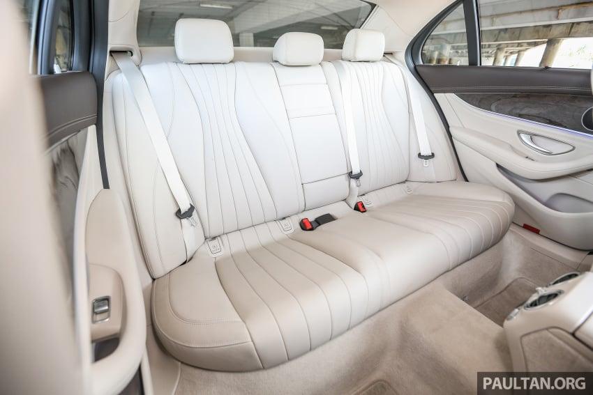 PANDU UJI: Mercedes-Benz W213 E 200 – penanda aras baharu segmen sedan mewah eksekutif Image #561498