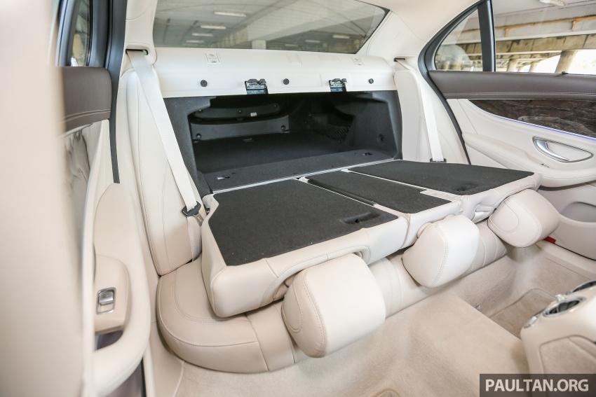 PANDU UJI: Mercedes-Benz W213 E 200 – penanda aras baharu segmen sedan mewah eksekutif Image #561496