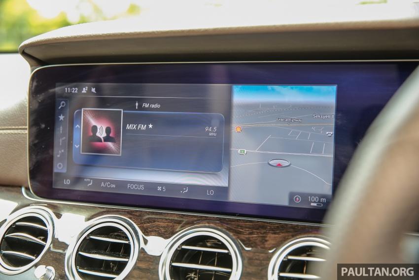 PANDU UJI: Mercedes-Benz W213 E 200 – penanda aras baharu segmen sedan mewah eksekutif Image #561488
