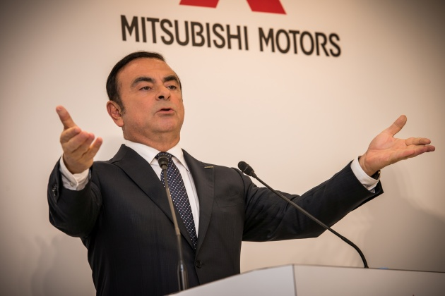 """YOKOHAMA, Japan (Oct. 20, 2016) – Nissan Motor Co., Ltd., (""""Nissan"""") today completed its acquisition of a 34 percent equity stake in Mitsubishi Motors (""""MMC"""") and became its largest shareholder. MMC will also become part of the global Alliance with Nissan and Renault. With the addition of MMC, the Alliance will be in the world's top three automotive groups by global volumes, with sales of 10 million units in fiscal year 2016. Pictured is Nissan Chairman and Chief Executive Officer Carlos Ghosn."""