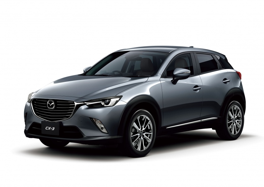 Mazda 2 and CX-3 updated with G-Vectoring Control Image #563855