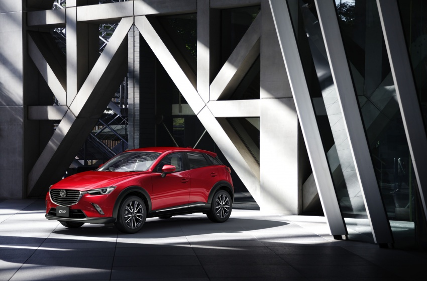 Mazda 2 and CX-3 updated with G-Vectoring Control Image #563857