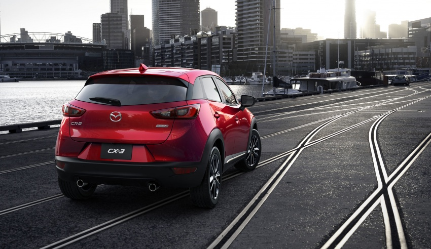 Mazda 2 and CX-3 updated with G-Vectoring Control Image #563859