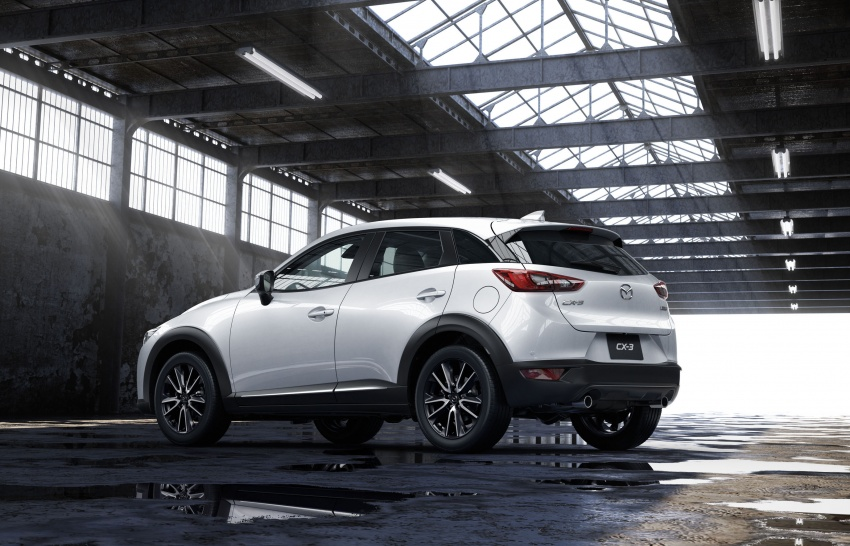 Mazda 2 and CX-3 updated with G-Vectoring Control Image #563861