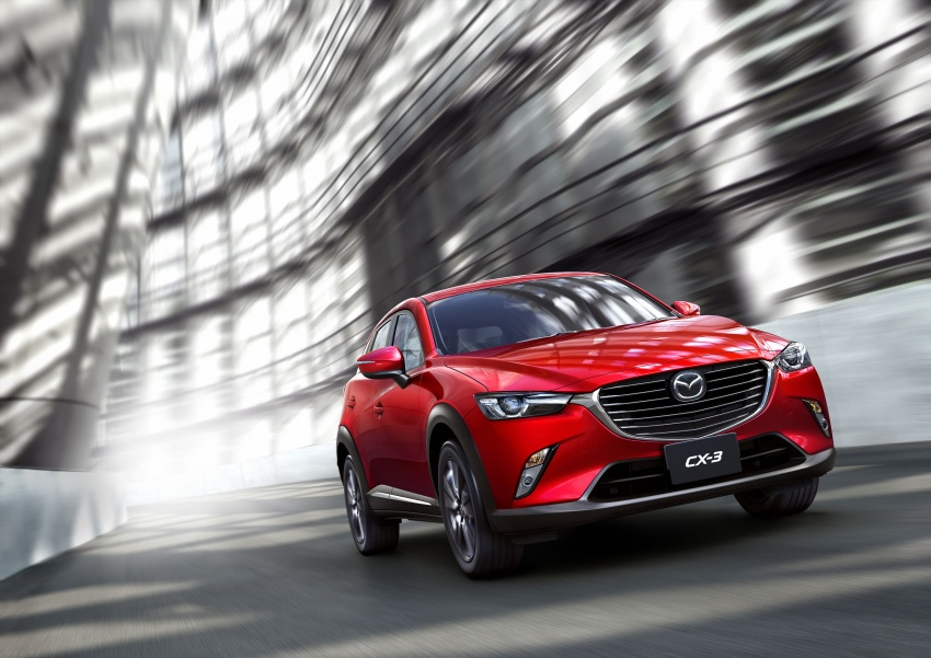 Mazda 2 and CX-3 updated with G-Vectoring Control Image #563862