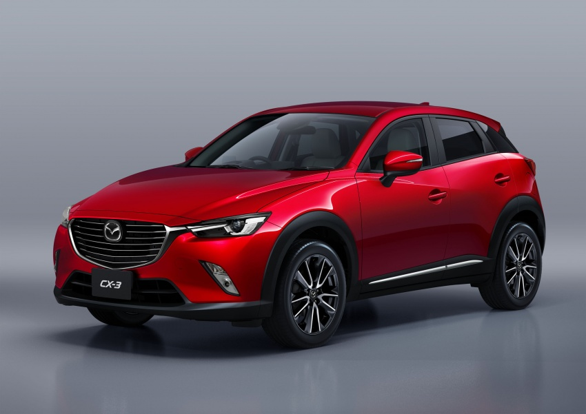 Mazda 2 and CX-3 updated with G-Vectoring Control Image #563863