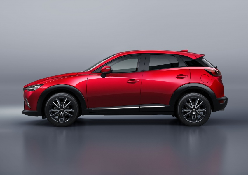 Mazda 2 and CX-3 updated with G-Vectoring Control Image #563864