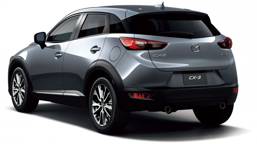 Mazda 2 and CX-3 updated with G-Vectoring Control Image #563881