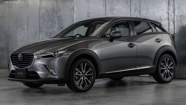 2017 mazda cx-3 now on sale in malaysia, with g-vectoring control