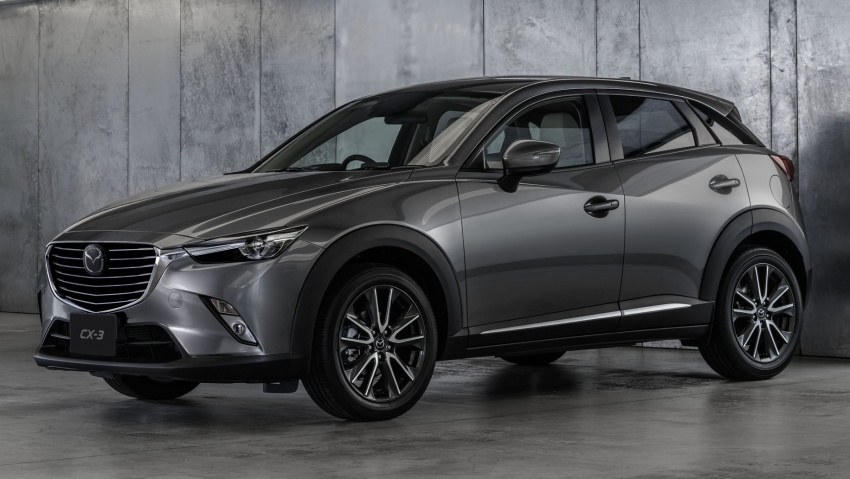 Mazda 2 and CX-3 updated with G-Vectoring Control Image #563883