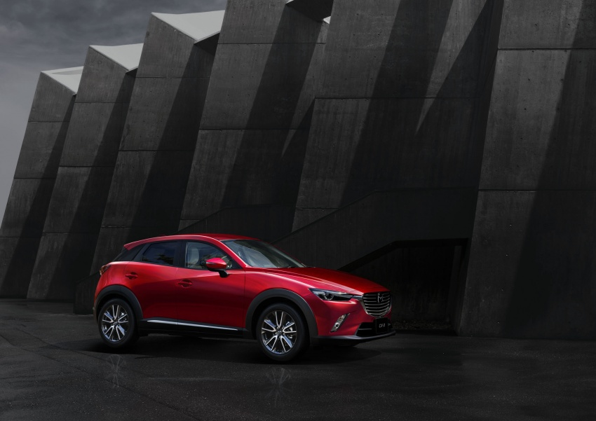Mazda 2 and CX-3 updated with G-Vectoring Control Image #563884