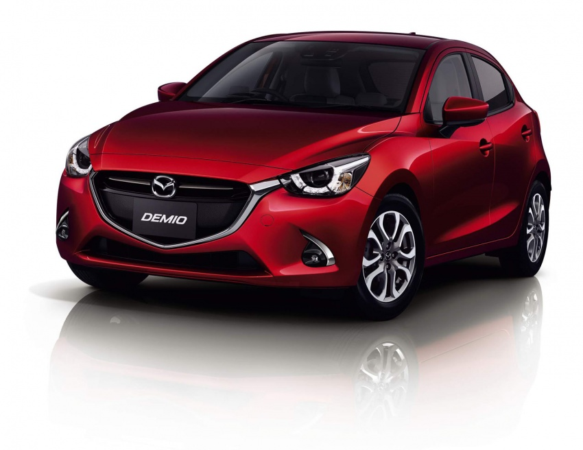 Mazda 2 and CX-3 updated with G-Vectoring Control Image #563885