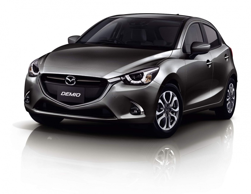 Mazda 2 and CX-3 updated with G-Vectoring Control Image #563886