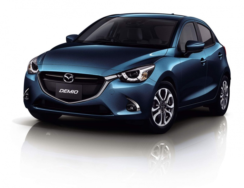 Mazda 2 and CX-3 updated with G-Vectoring Control Image #563887