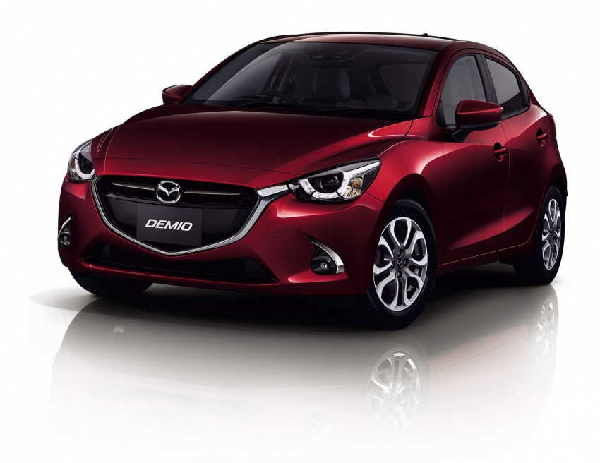 Mazda 2 and CX-3 updated with G-Vectoring Control Image #563888