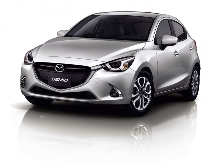 Mazda 2 and CX-3 updated with G-Vectoring Control Image #563889