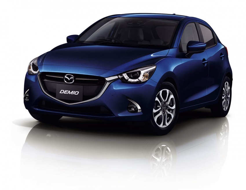 Mazda 2 and CX-3 updated with G-Vectoring Control Image #563891