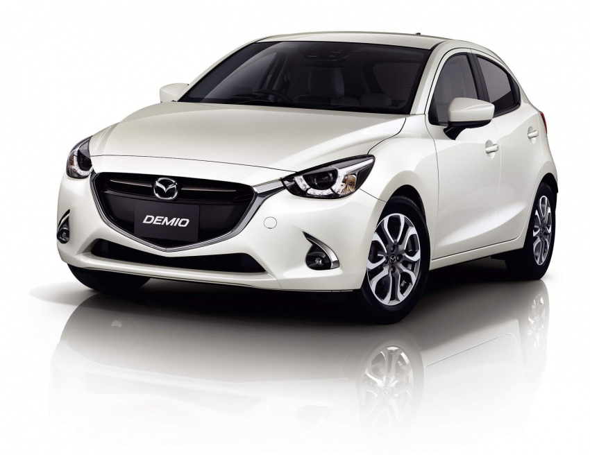 Mazda 2 and CX-3 updated with G-Vectoring Control Image #563892