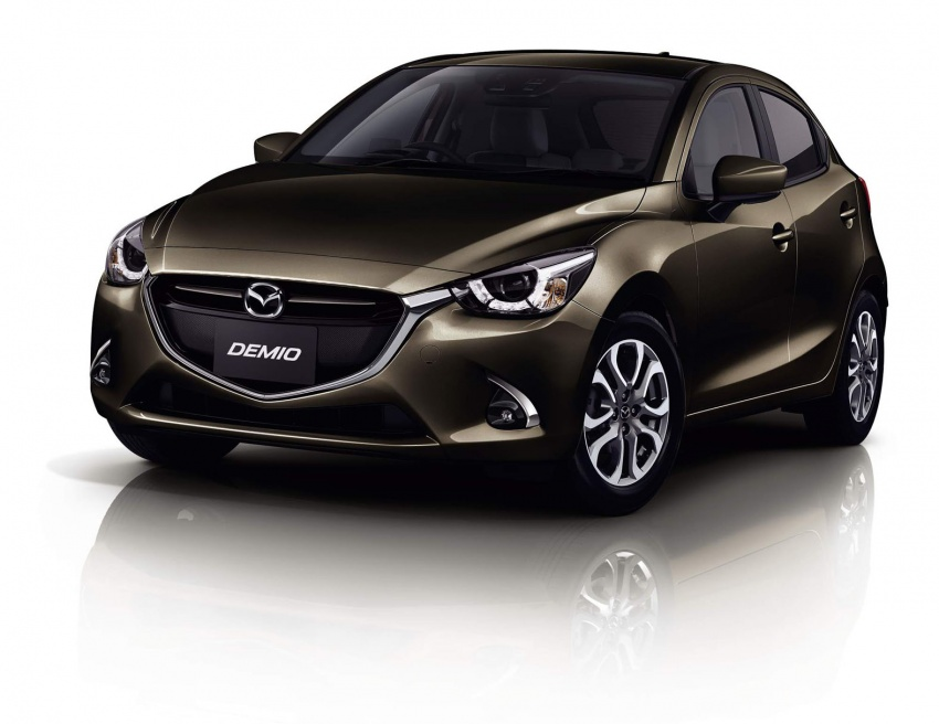 Mazda 2 and CX-3 updated with G-Vectoring Control Image #563893