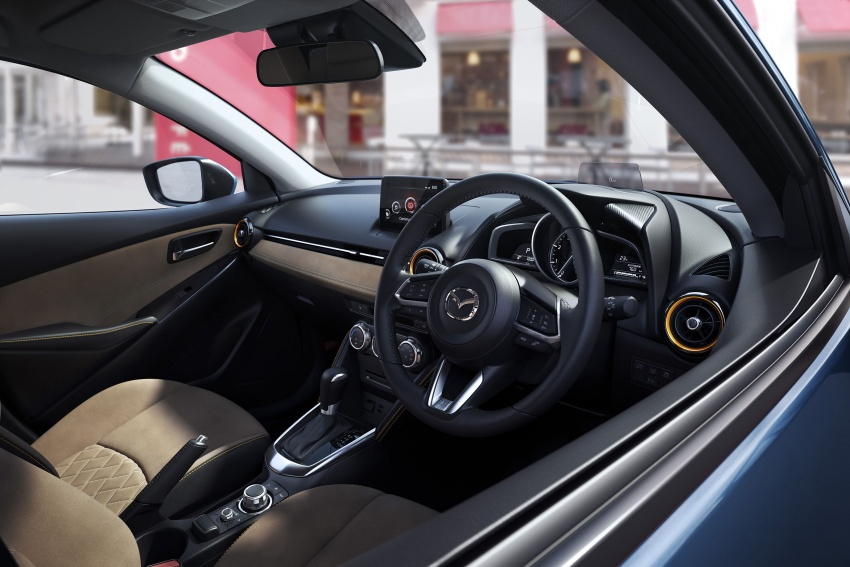 Mazda 2 and CX-3 updated with G-Vectoring Control Image #563897