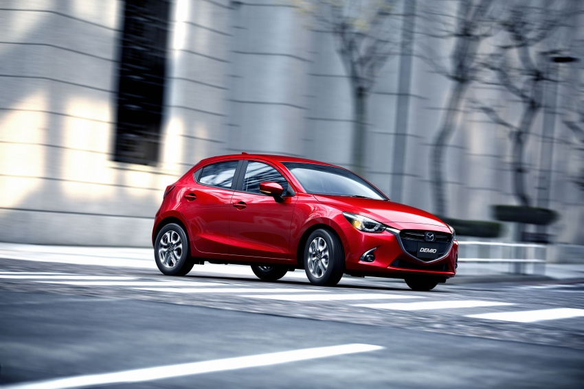 Mazda 2 and CX-3 updated with G-Vectoring Control Image #563898