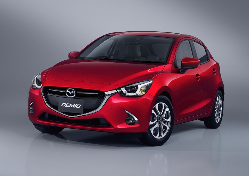Mazda 2 and CX-3 updated with G-Vectoring Control Image #563901