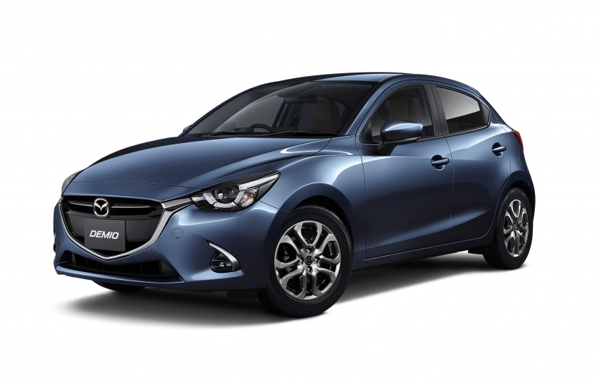 Mazda 2 and CX-3 updated with G-Vectoring Control Image #563922