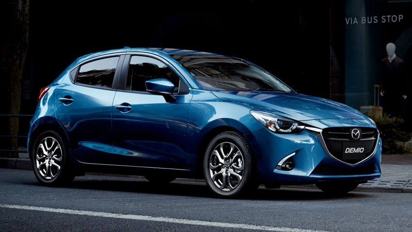 Mazda 2 and CX-3 updated with G-Vectoring Control Image #563925