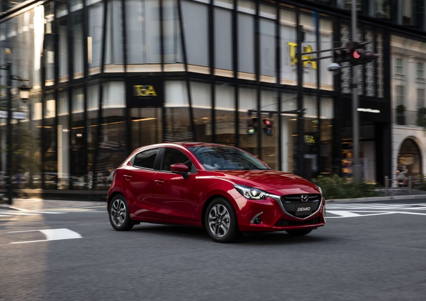 Mazda 2 and CX-3 updated with G-Vectoring Control Image #563926