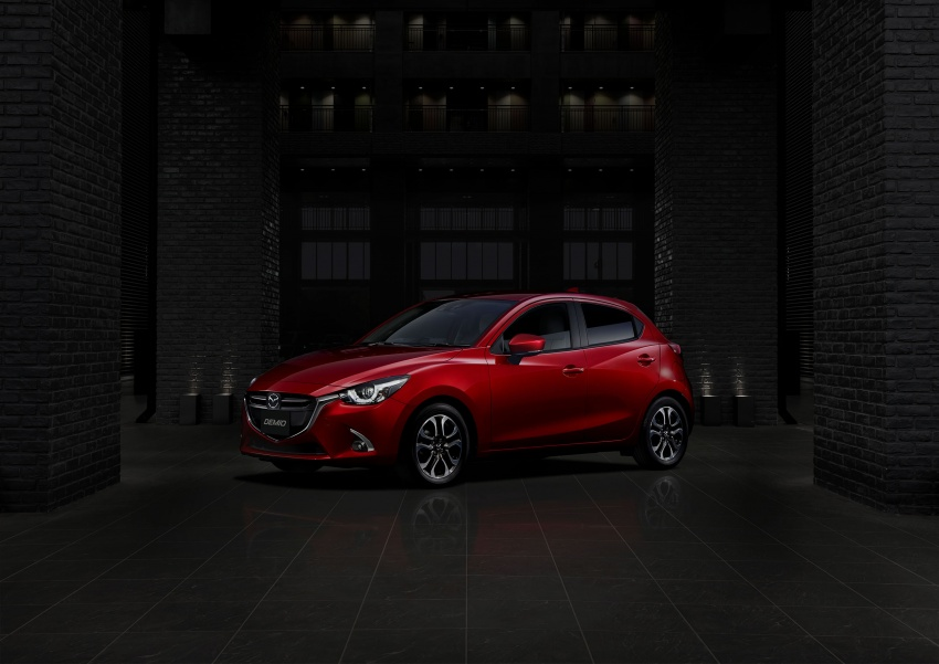 Mazda 2 and CX-3 updated with G-Vectoring Control Image #563932