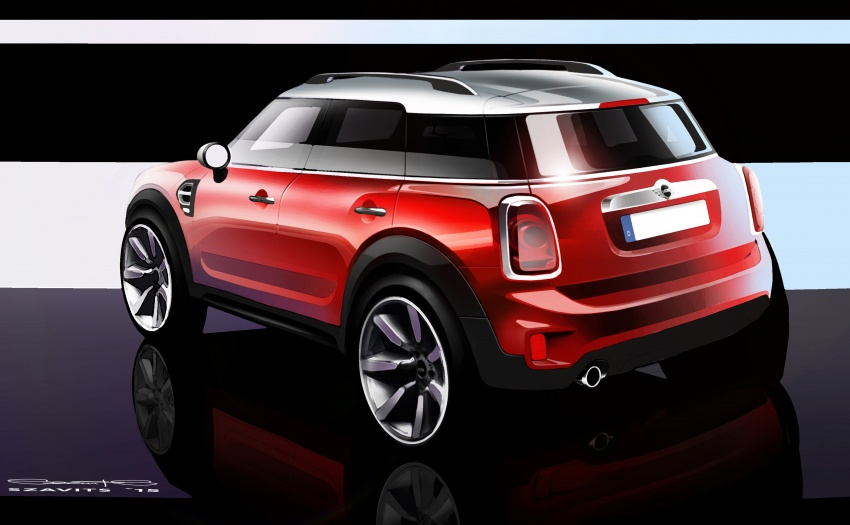 F60 MINI Countryman revealed – larger, with more tech Image #569309