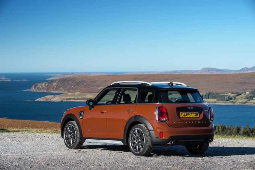 F60 MINI Countryman revealed – larger, with more tech Image #569101