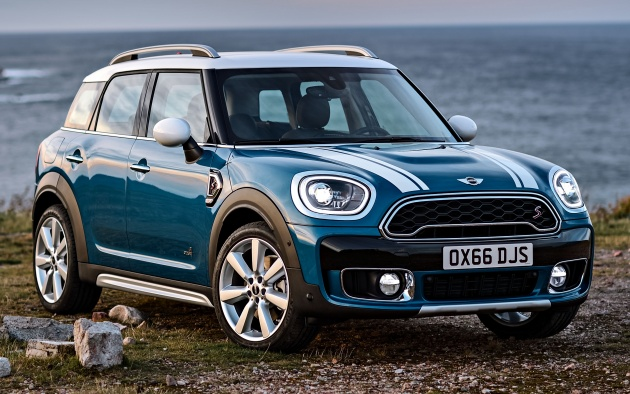 F60 Mini Countryman Revealed Larger With More Tech