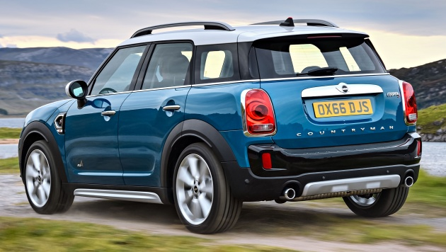 f60 mini countryman revealed larger with more tech. Black Bedroom Furniture Sets. Home Design Ideas