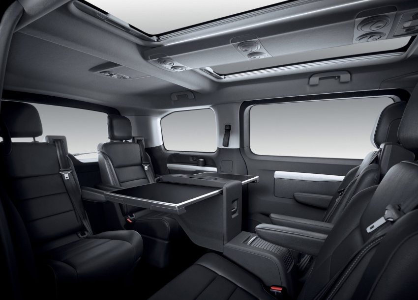 Peugeot traveller being explored for q3 2017 malaysian for Peugeot traveller interieur