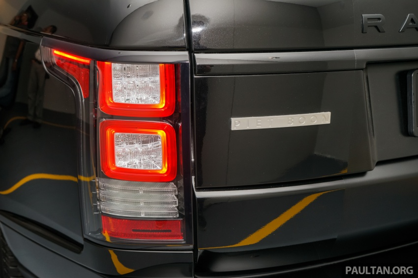 Range Rover Piet Boon one-off shown – RM1.29mil Image #562691
