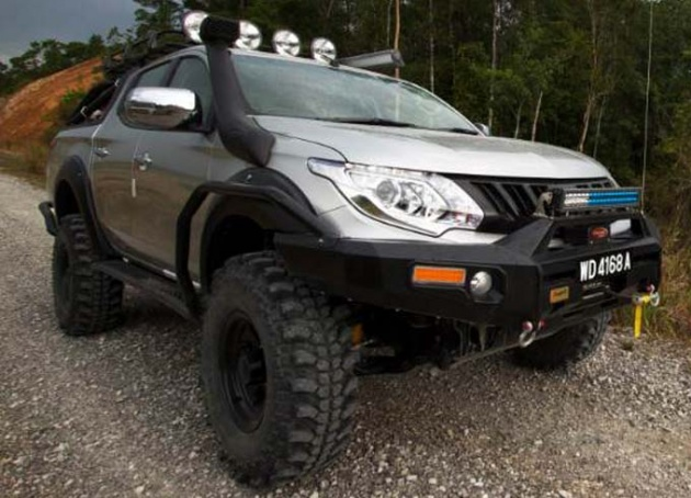 the-new-triton-with-mivec-turbo-diesel-engine-will-be-participating-in-the-borneo-safari-2016