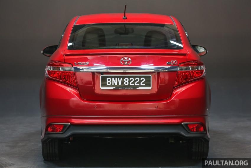 Toyota Vios 2016 kini dilancarkan – Dual VVT-i, CVT, EEV, VSC semua varian, dari RM76,500-RM96,400 Image #558235