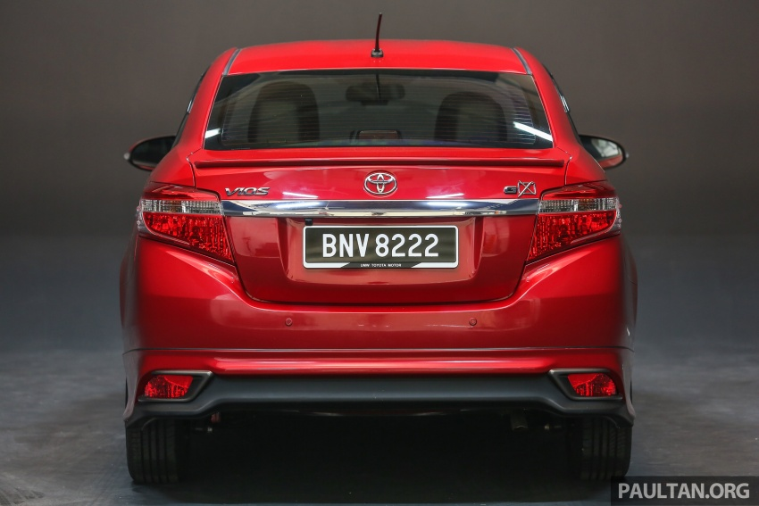 New 2016 Toyota Vios launched in Malaysia – EEV, Dual VVT-i, CVT, VSC standard, RM76,500 – RM96,400 Image #557894