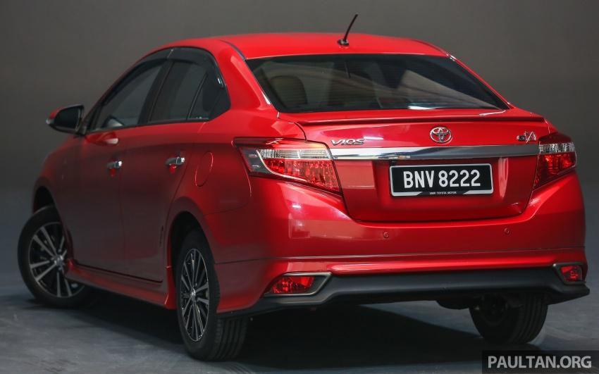 Toyota Vios 2016 kini dilancarkan – Dual VVT-i, CVT, EEV, VSC semua varian, dari RM76,500-RM96,400 Image #558158