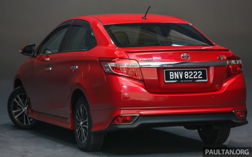 New 2016 Toyota Vios launched in Malaysia – EEV, Dual VVT-i, CVT, VSC standard, RM76,500 – RM96,400 Image #557895