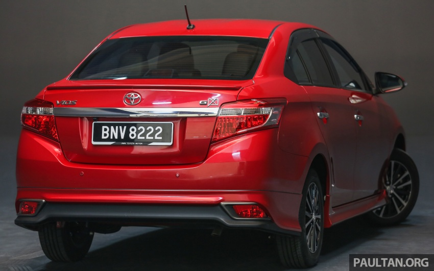 New 2016 Toyota Vios launched in Malaysia – EEV, Dual VVT-i, CVT, VSC standard, RM76,500 – RM96,400 Image #557898