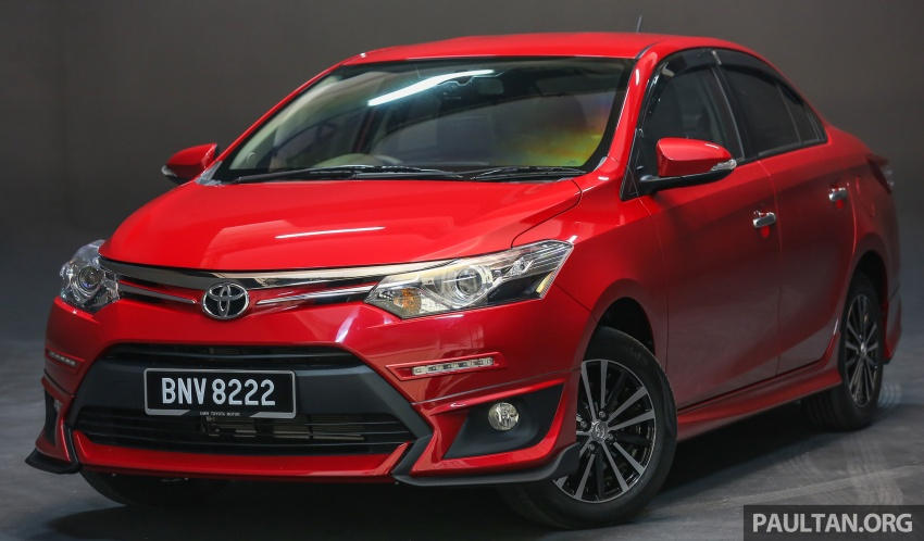 New 2016 Toyota Vios launched in Malaysia – EEV, Dual VVT-i, CVT, VSC standard, RM76,500 – RM96,400 Image #557873