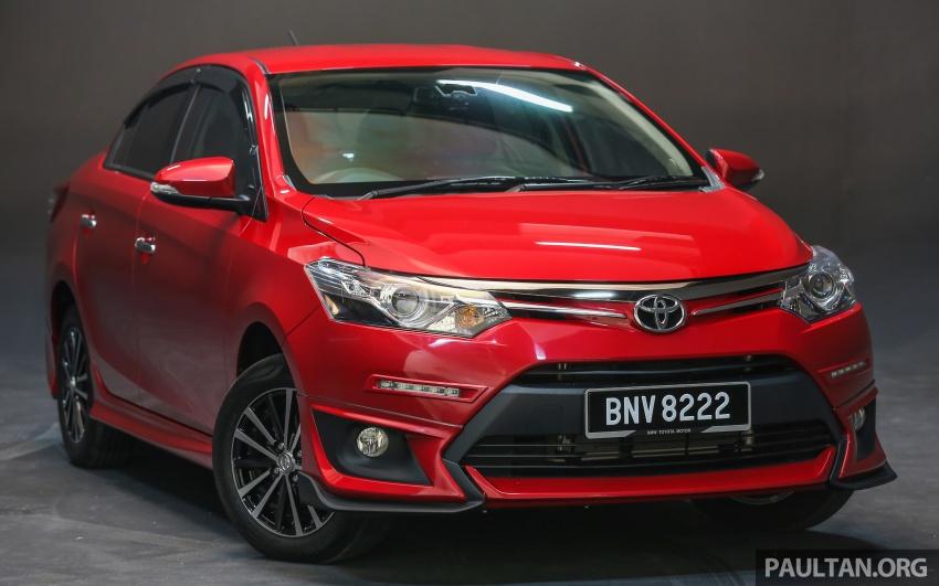 New 2016 Toyota Vios launched in Malaysia – EEV, Dual VVT-i, CVT, VSC standard, RM76,500 – RM96,400 Image #557875