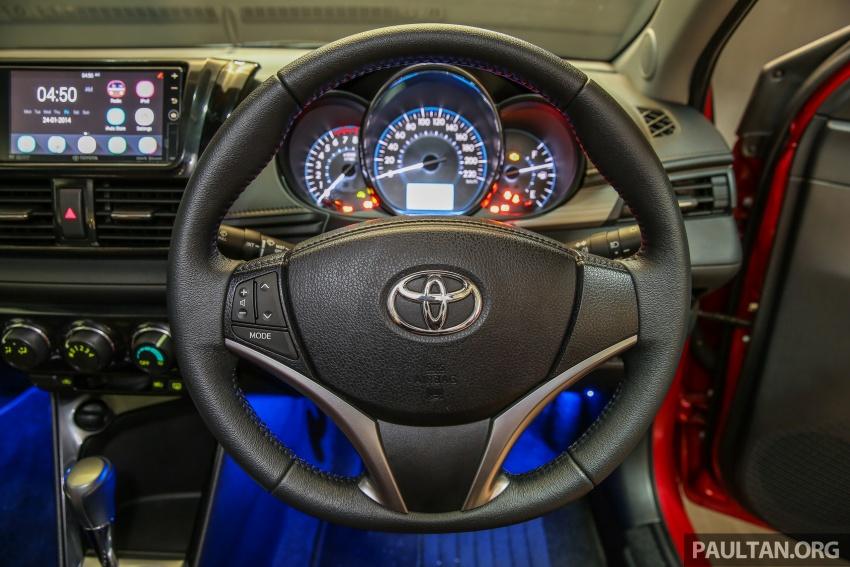 Toyota Vios 2016 kini dilancarkan – Dual VVT-i, CVT, EEV, VSC semua varian, dari RM76,500-RM96,400 Image #558212