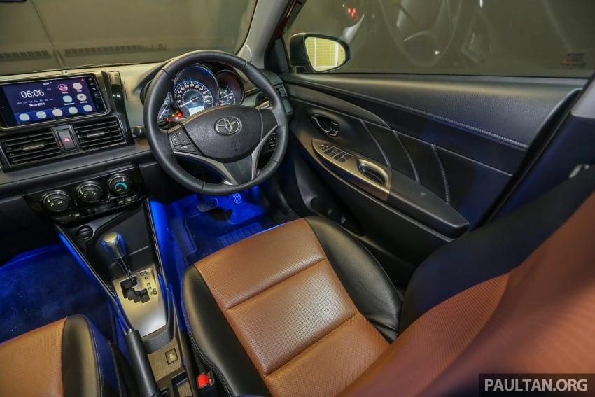 Toyota Vios 2016 kini dilancarkan – Dual VVT-i, CVT, EEV, VSC semua varian, dari RM76,500-RM96,400 Image #558199
